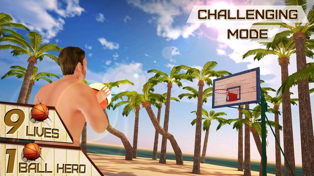 Beach Basketball Shooting King apk screenshot