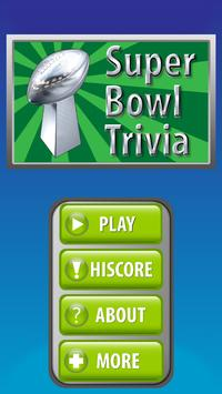 Super Bowl Trivia - Free poster