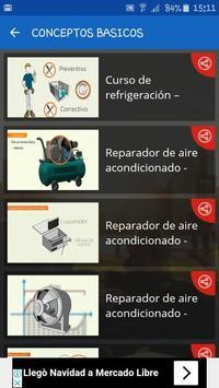 CURSO DE MANTENIMIENTO DE AIRES ACONDICIONADO screenshot 1