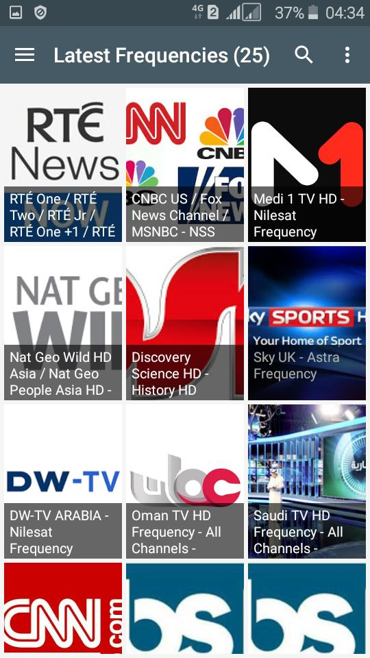 TV Channel Frequency (Freqode) for Android - APK Download