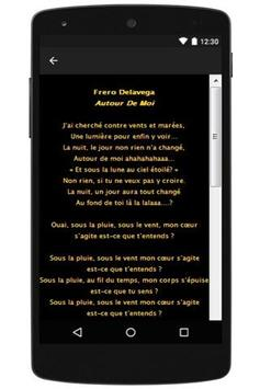 New Lyrics Frero Delavega apk screenshot
