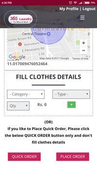 365 Laundry apk screenshot
