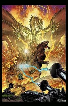 Godzilla Monster Wallpaper screenshot 4