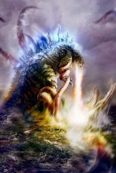 Godzilla Monster Wallpaper screenshot 5