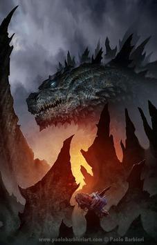 Godzilla Monster Wallpaper screenshot 2
