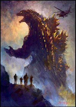 Godzilla Monster Wallpaper screenshot 3