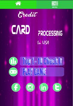 FD® Credit Card Processing Usa poster
