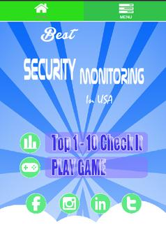 Home Security Monitoring Usa poster