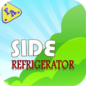 Side-by-Side Refrigerator Usa icon