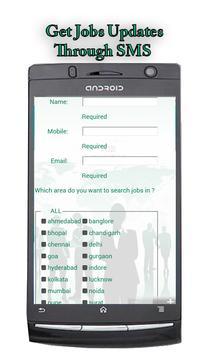 Freshers Job Alerts India apk screenshot