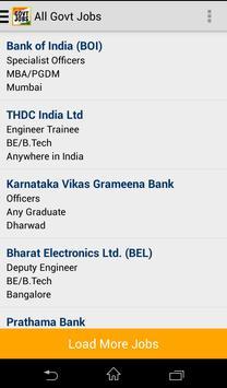Govt Jobs Sarkari Naukri - FW screenshot 1