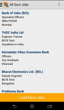 Govt Jobs Sarkari Naukri - FW screenshot 7