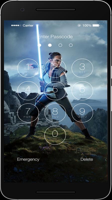 Star Wars Lock Screen Poster Screenshot 1