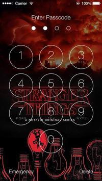 Stranger Things Lock Screen poster
