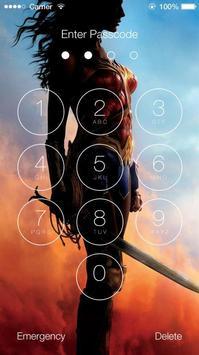 Wonder Woman Lock Screen screenshot 4