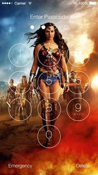 Wonder Woman Lock Screen screenshot 6