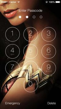 Wonder Woman Lock Screen poster