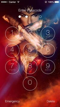 Wonder Woman Lock Screen screenshot 3