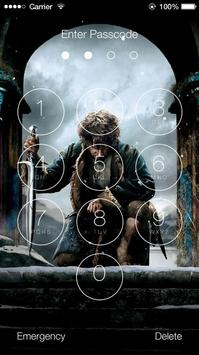 The Hobbit Lock Screen screenshot 2