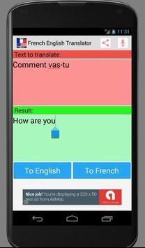 French English New Translator apk screenshot