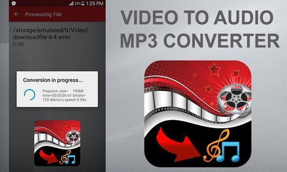 Video To Audio Mp3 Converter apk screenshot
