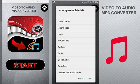 Video To Audio Mp3 Converter poster