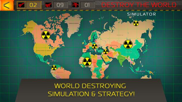 Destroy the world simulator apk download free simulation game for destroy the world simulator poster gumiabroncs Images