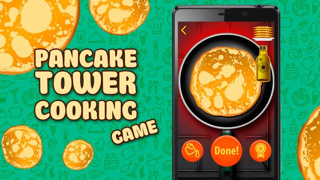 Pancake Tower Cooking. Game poster
