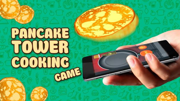 Pancake Tower Cooking. Game apk screenshot