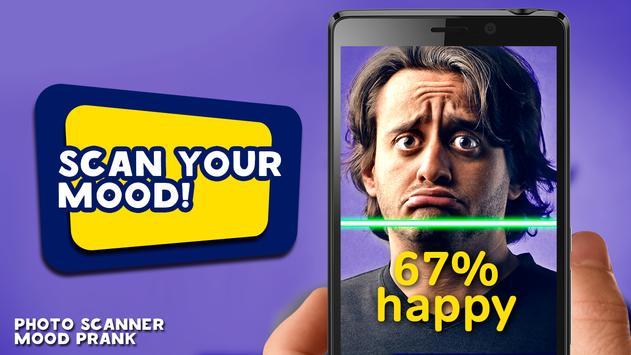 Photo scanner mood prank poster