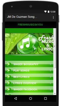 JM De Guzman Songs & Lyrics. screenshot 4