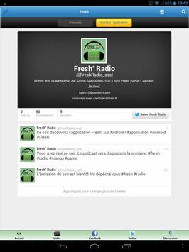 Fresh' Radio screenshot 1