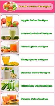 fress juice recipes poster