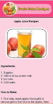 fress juice recipes screenshot 1