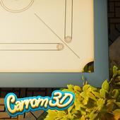 Carrom Board 3D™ FREE icon
