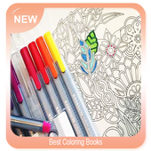 Best Coloring Books 图标