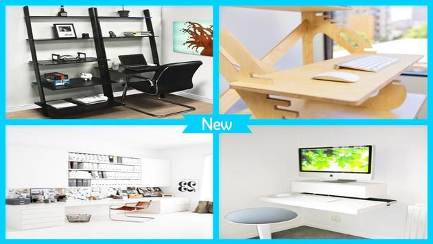 Stylish DIY Computer Desk Designs poster
