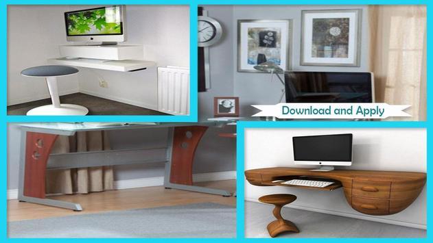 Stylish DIY Computer Desk Designs screenshot 2
