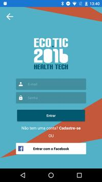 ECO TIC 2016 Health Tech apk screenshot