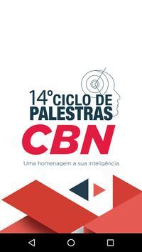 Ciclo de Palestras CBN poster