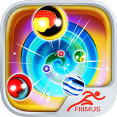 Rolling Marbles Fun icon