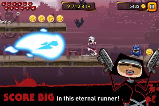 Nun Attack: Run & Gun 截图 1