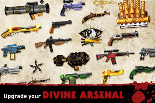 Nun Attack: Run & Gun 截图 2