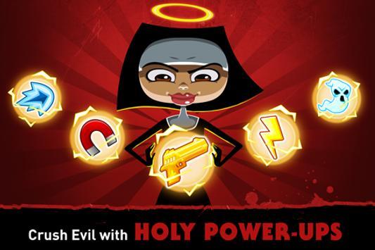 Nun Attack: Run & Gun 截图 9