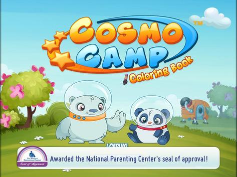 CosmoCamp: Coloring Book apk screenshot