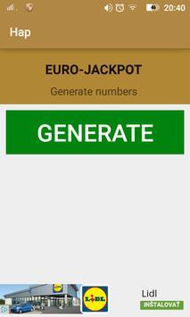 Hap Euro-jackpot apk screenshot