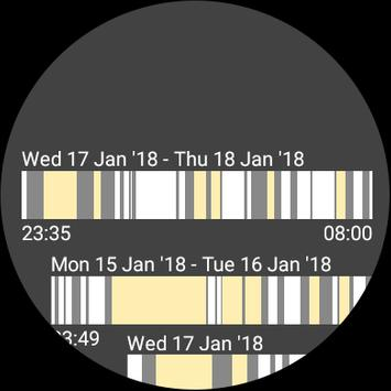 Smart Alarm and Sleep Tracker for Android Wear screenshot 4