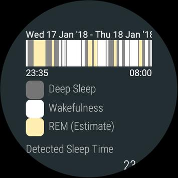 Smart Alarm and Sleep Tracker for Android Wear screenshot 5
