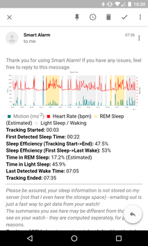 Smart Alarm and Sleep Tracker for Wear OS poster