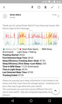 Smart Alarm and Sleep Tracker for Android Wear poster